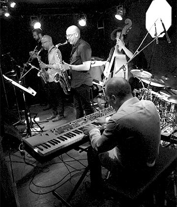 Eric Lozano sextet Jazz musique live